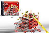 Парковка «six-six-Zero» 4 уровня красная, 660-A155, купить