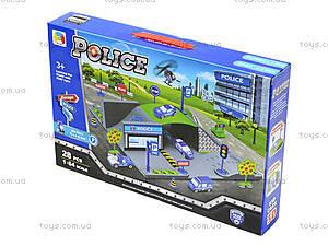 Детский парковочный центр «Полицейский транспорт», P0688, фото