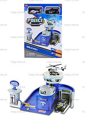 Детская парковка-гараж «Полиция», TH626