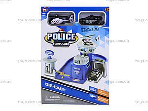 Детская парковка-гараж «Полиция», TH626, фото