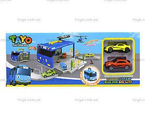 Детский парковочный центр «Приключения Тайо», XZ-601, отзывы