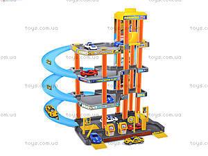 Игрушечный паркинг с машинками, Р7688А-5, фото