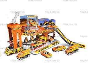 Гараж паркинг детский «Городские джунгли», 660-161, фото