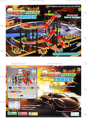 Игровой набор паркинг с треком «Крутые виражи», Р4788