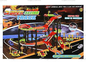 Игровой набор паркинг с треком «Крутые виражи», Р4788, цена
