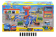 Паркинг с маленькими автобусами, XZ-604