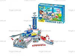 Паркинг с машинками «Робокар Поли»,