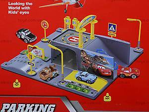 Паркинг с машинками «Тачки», P0399, фото