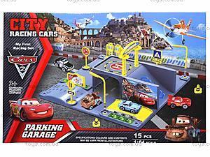 Паркинг с машинками «Тачки», P0399, игрушки