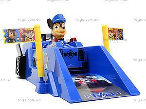 Трек с запуском «Щенячий патруль», XZ-343, игрушки