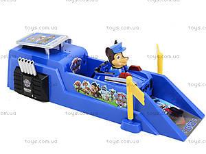 Трек с запуском «Щенячий патруль», XZ-343, детские игрушки