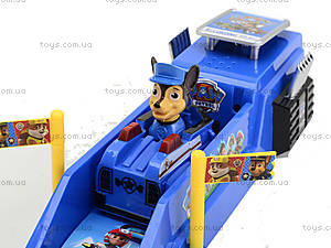 Трек с запуском «Щенячий патруль», XZ-343, магазин игрушек