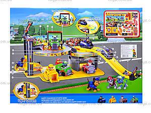 Игровой паркинг для детей «Щенячий патруль», XZ-335, игрушки