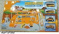 Паркинг игрушечный «Стройка» с машинками, 660-60, фото