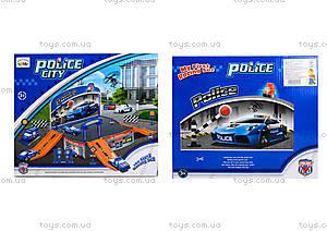 Паркинг для детей «Полиция», P2088