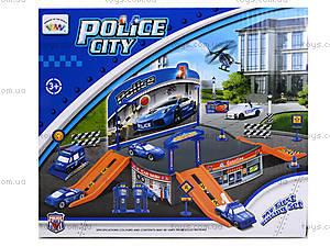 Паркинг для детей «Полиция», P2088, детские игрушки