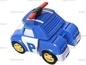 Игрушечная парковка Robocar Poli «Пожарная станция Роя», XZ-155, магазин игрушек