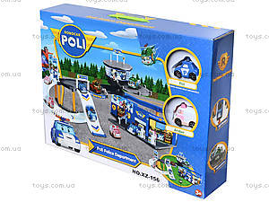 Спасательная станция Robocar Poli, XZ-156, отзывы