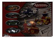 Паркинг игрушечный с металлическими машинами, 8302