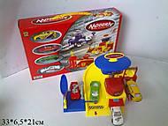 Паркинг игрушечный с металлическими машинами, 8302, фото