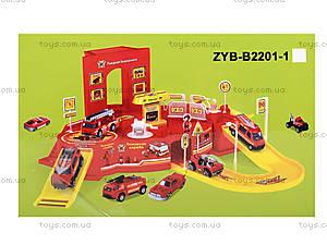 Игрушечный паркинг «Пожарная служба», ZYB-B2201-1, цена
