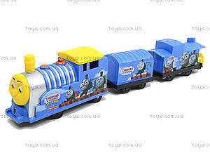 Музыкальный паровоз с вагоном «Томас», 8014, игрушки