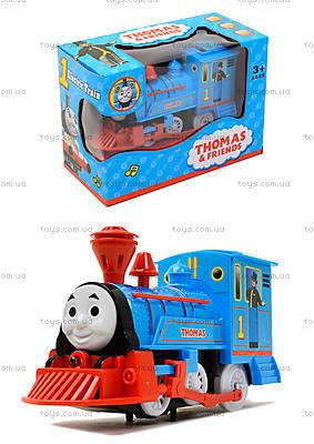 Музыкальный паровоз «Томас» с подсветкой, 99697
