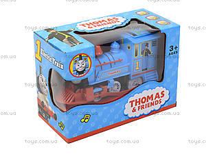 Музыкальный паровоз «Томас» с подсветкой, 99697, игрушки