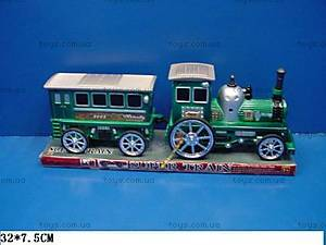 Паровоз с вагоном Super Train, 1002
