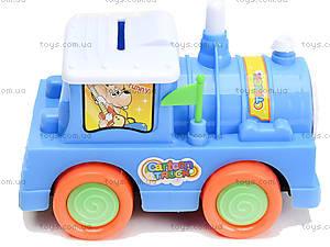 Инерционный паровоз «Томми», AH1689-A, игрушки
