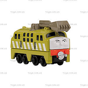 Игрушечный паровоз с прицепом «Паровозик Томас», BHX25, фото