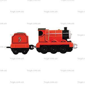 Игрушечный паровоз с прицепом «Паровозик Томас», BHX25, цена