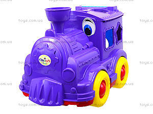 Детский паровозик-сортер «Кукушка», 218, купить