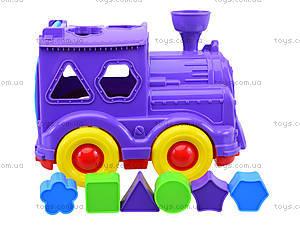 Детский паровозик-сортер «Кукушка», 218, отзывы