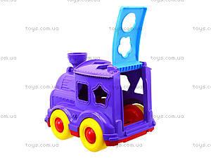 Детский паровозик-сортер «Кукушка», 218, игрушки