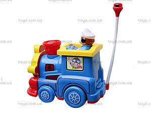 Детский музыкальный паровозик, поющий, 7245, купить