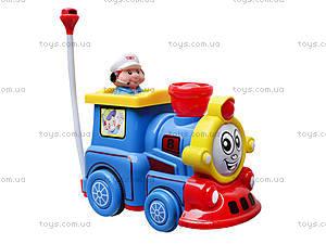 Детский музыкальный паровозик, поющий, 7245, цена