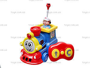 Детский музыкальный паровозик, поющий, 7245, игрушки