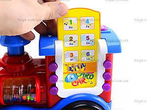 Игровой музыкальный паравозик, BB363, цена
