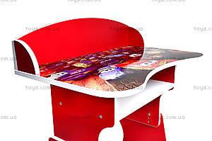Школьная парта со стулом «Тачки», П018, купить