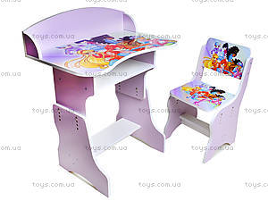 Детская парта с стулом «Винкс», П022, купить