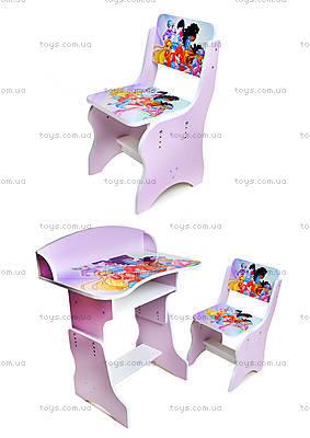 Детская парта с стулом «Винкс», П022