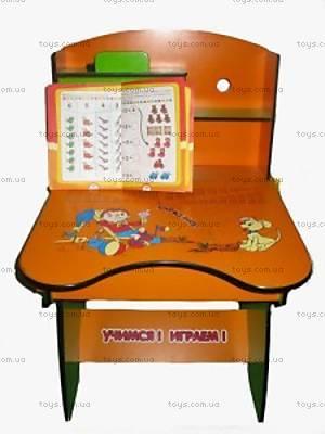 Парта со стулом для детей, W055 GREEN-RE