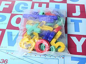 Парта со стулом и доской «Алфавит», W017, игрушки