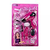 Парикмахерский набор «Cute Girl» с ножничками, WY317-7/4, отзывы