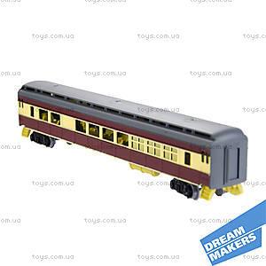 Игрушечная железная дорога «Пассажирский паровоз», 1601A-3B, купить