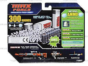 Запасные снаряды для оружия Max Force, 300 штук, 29391-MF, купить