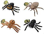 Детский набор игрушечных пауков, 7426