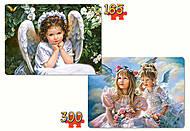Пазл Castorland 2 в 1 «Милые Ангелы», B-021093, фото