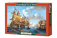 Детский пазл Castorland «Корабли», 2000 деталей, 0399, фото